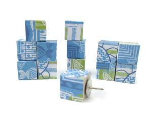 LI - Turtle Print Pushpins