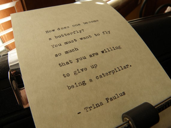 Days Long Past - Trina Paulus quote