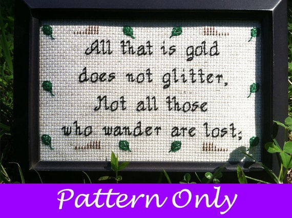 SF Stitch - All that is gold