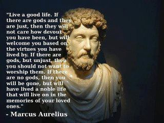 Marcus Aurelius on Life and Death