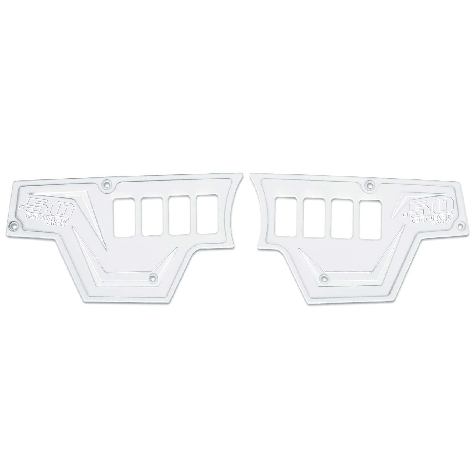 Usa Made 2pc 8 Switch Dash Panel Plates Polaris Rzr S