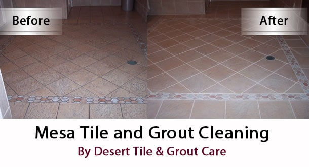 mesa arizona tile grout cleaning