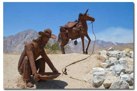 Image result for borrego springs sculptures map