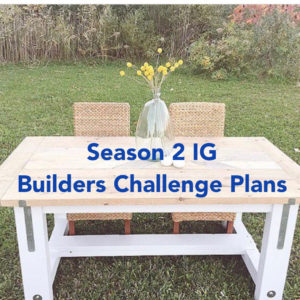 IGBC Season 2 Dining Table Plans