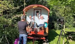 Opname crowdfunding film voor ijsbaan De Watertoren