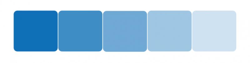 La couleur bleue - Couleur avec le bleu ...