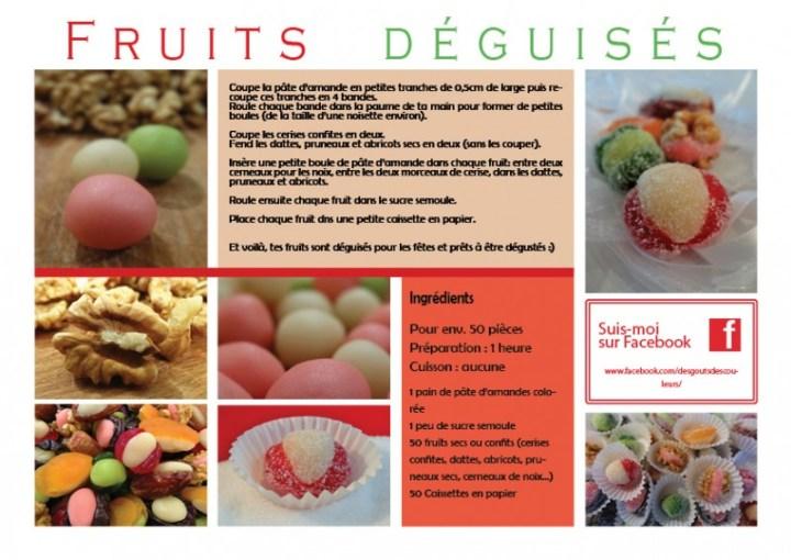 Fruits déguisés