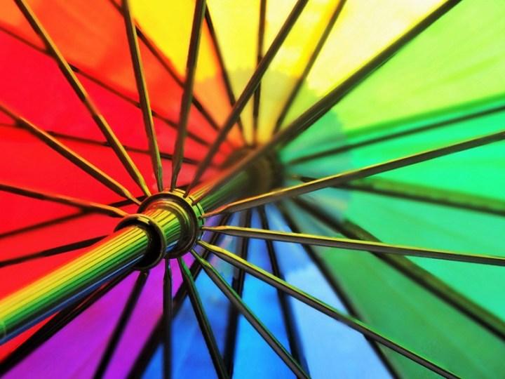 Une pluie de couleurs