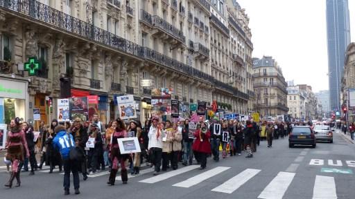 Marche Contre La Fourrure (Paris - 24 novembre 2012)
