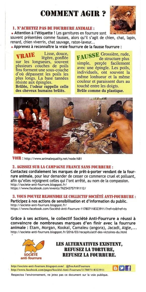 Tract2 Société Anti-Fourrure - boutique Zapa