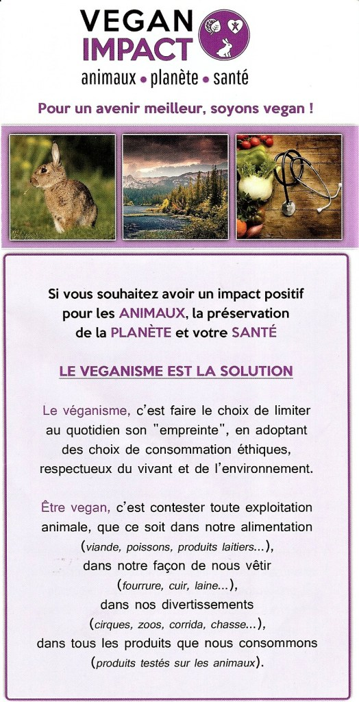 Tract Vegan Impact_1 - Salon de L'Agriculture