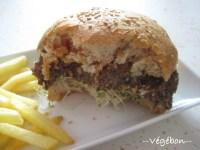 Steak haché 100 % végétal pour hamburger maison