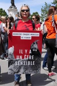 Danielle_Marche pour la fermeture des abattoirs (23 juin 2018)