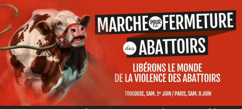 Fermeture des abattoirs et des élevages - Actions militantes