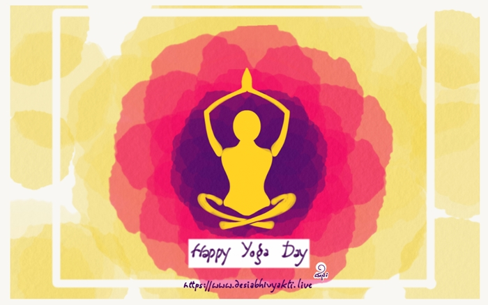 Yoga Thoughts – Connecting with Soul | Yoga Day Wishes