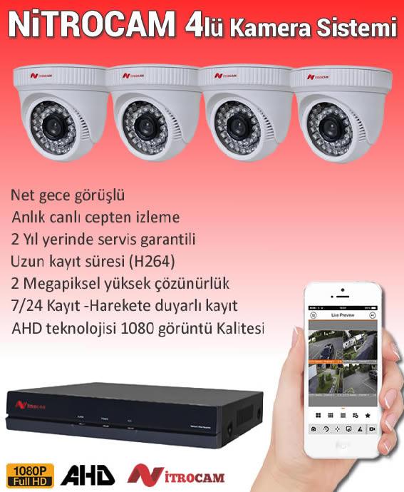 Nitrocam 4lü Kamera Sistemi