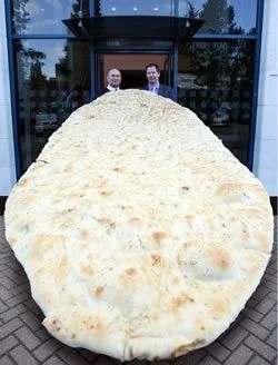 The World's Biggest Naan Bread