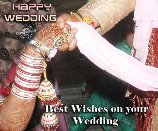 Best Wishes On Your Wedding