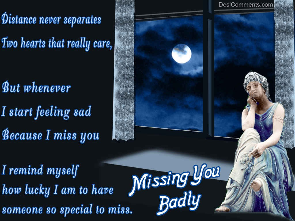 Missing You Badly