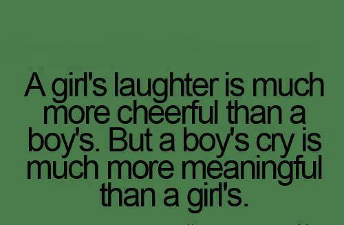 Laughter and Cry
