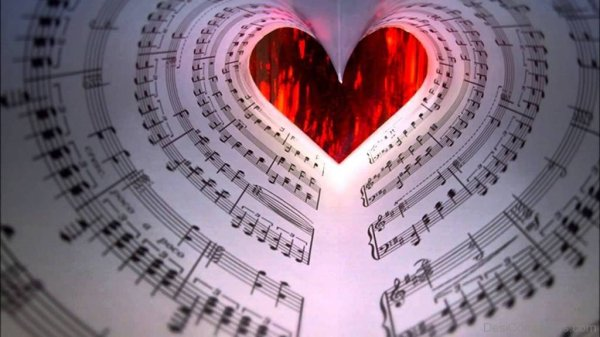 Music Heart - Wallpapers | DesiComments.com