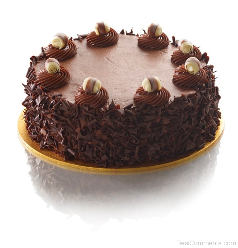 Amazing Happy Birthday With Chocolate Cake Desicomments Com
