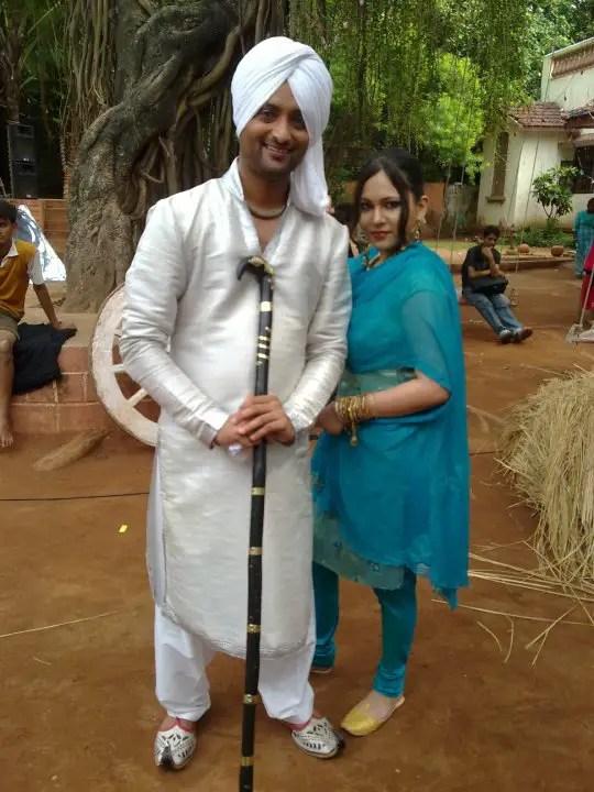 Jeet Jagjit In Punjabi Dress