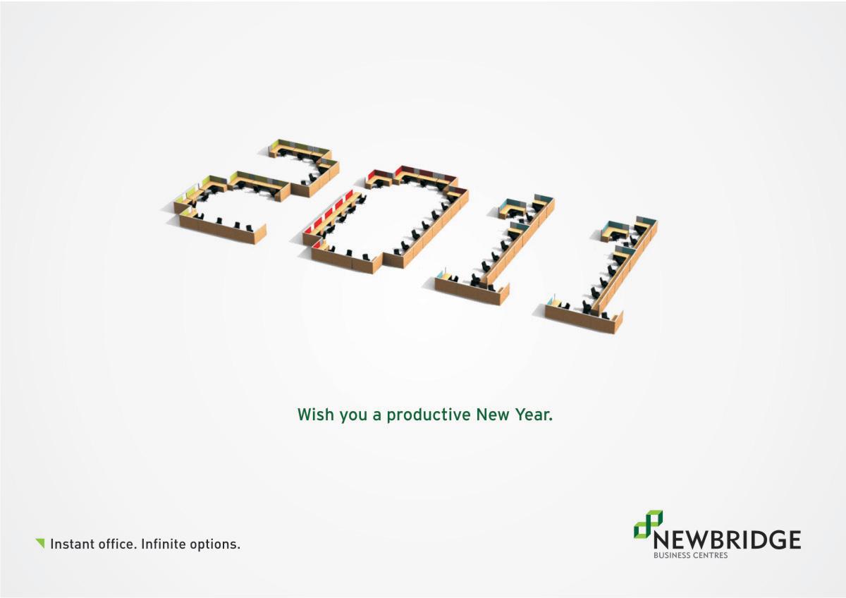 innovative new year greetings