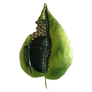 Budha leaf wall hanging