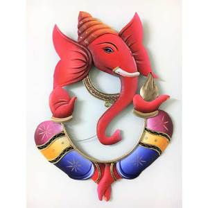 Ganesha 3d Wrought iron Wall decor hanging