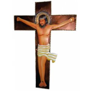 Jesus Christ iron wall decor hanging