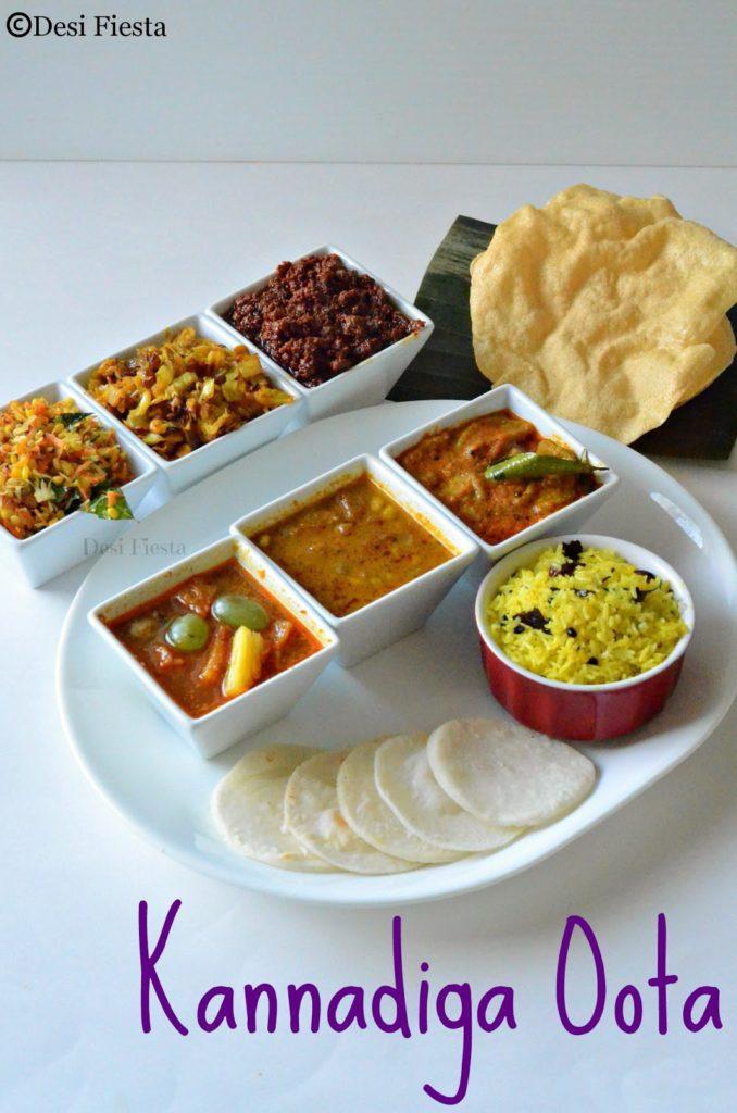 Karnataka oota kannadiga oota kannada thali desi fiesta karnataka oota kannadiga oota kannada thali forumfinder Image collections