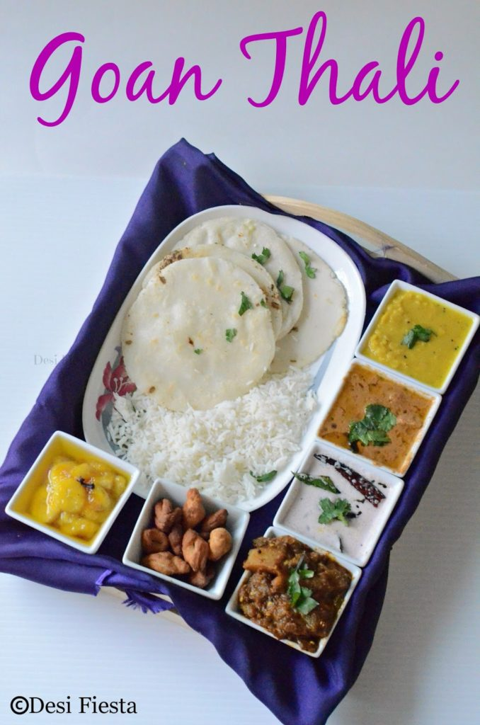 Goan thali a simple goan lunch menu desi fiesta lets move on to the simple goan meal recipes check out the blogging marathon page for the other blogging marathoners doing bm39 forumfinder Image collections