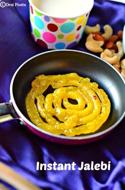 how to make instant jalebi