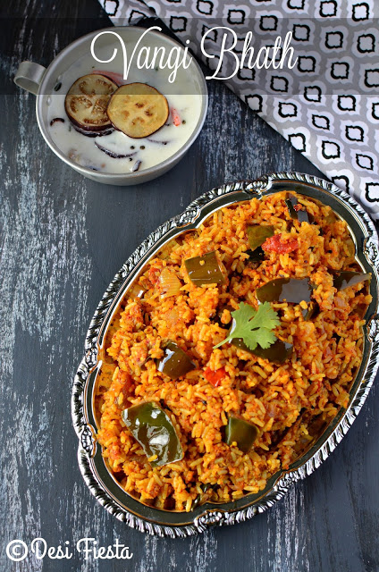Brinjal rice recipes