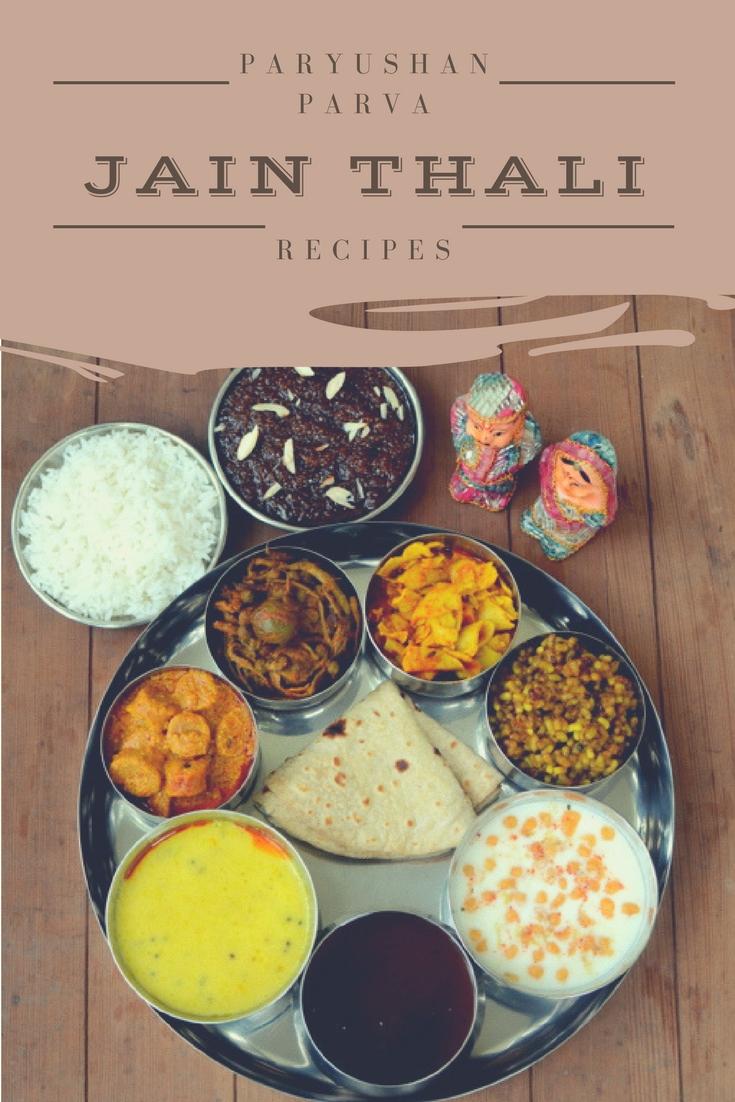 Jain thali paryushan parva recipes rajasthani recipes desi fiesta forumfinder Image collections