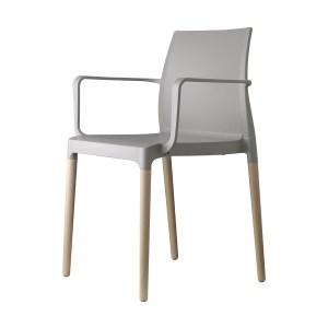 Art.SE08 - Sedia in tecnopolimero, con o senza braccioli. Disponibile in diverse finiture (SCAB)