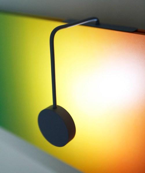 Kinetic Sunrise-Sunset Lamp by Lithuanian designer Barbora Adamonyte