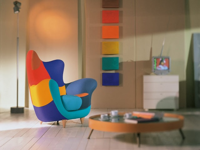 The Alessandra Armchair (Bergere) By Designer Javier Mariscal For Los  Muebles Amorosos Collection Of Nice Ideas