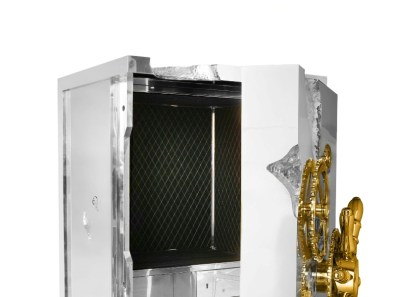MILLIONAIRE SILVER Safe Box & Cabinet by BOCA DO LOBO (Private Collection) - Copyright: ©BOCA DO LOBO