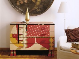 CALAMOBIO Chest of Drawers-Dresser by Alessandro Mendini (Re-edition, 1988) from ZANOTTA (Edizioni Collection) - Copyright: © ZANOTTA, Alessandro Mendini (Atelier Mendini)