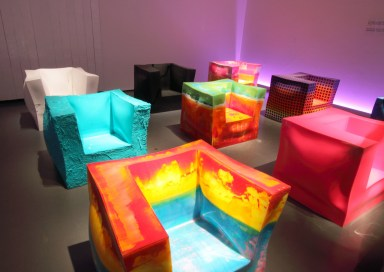 IPERBOLICA Collection Armchairs by Alessandro Ciffo at the 2012 TRIENNALE DESIGN WEEK in Milano (Copyright©: Alessandro Ciffo, Dilmos Gallery, Secondome Design Gallery)