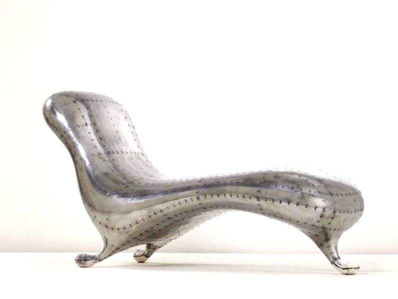 Lockheed lounge chaise longue lounger daybed by marc for Chaise longue lockheed lounge