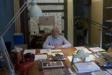 "ALESSANDRO MENDINI in his Studio ""Atelier Mendini"" - Copyright: © Alessandro Mendini (Atelier Mendini)"