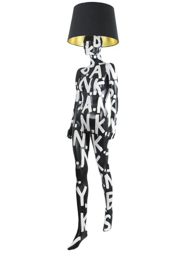 B.A.N.K.S.Y Mannequin Floor Lamp by Jimmie Karlsson & Martin Nihlmar from JIMMIE MARTIN (Copyright: © JIMMIE MARTIN, Jimmie Karlsson, Martin Nihlmar)