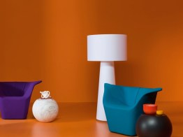 BIG SHADOW Floor Lamps & Table Lamps by Marcel Wanders from CAPPELLINI (1998) - Copyright©: Marcel Wanders, CAPPELLINI
