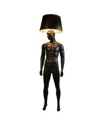 BLACK ON BLACK Mannequin Floor Lamp by Jimmie Karlsson & Martin Nihlmar from JIMMIE MARTIN (Copyright: © JIMMIE MARTIN, Jimmie Karlsson, Martin Nihlmar)