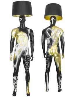 CALIFORNIA OBEY Mannequin Floor Lamp by Jimmie Karlsson & Martin Nihlmar from JIMMIE MARTIN (Copyright: © JIMMIE MARTIN, Jimmie Karlsson, Martin Nihlmar)