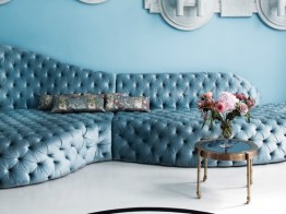 Sofa by Danielle Moudaber (photo by Rei Moon-MOON RAY STUDIO)