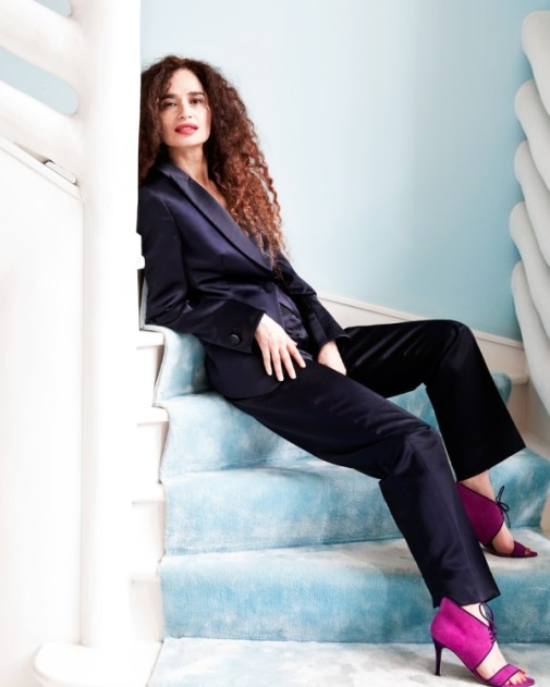 The London Flat of Interior Designer Danielle Moudaber (photo by Sunna & Marc van Praag)